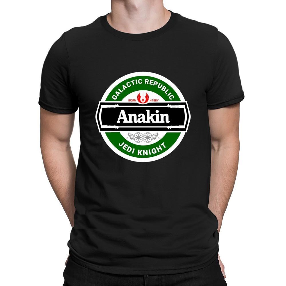 Camiseta de Anakin de la Guerra de Las cerveza para hombre, camisa...
