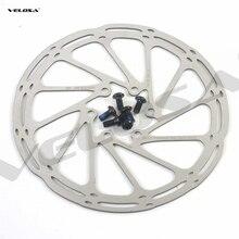 Yüksek kaliteli MTB/yol disk fren/cyclocross bisiklet FREN DİSKİ, 44mm 6-bolt, merkez hattı 140mm 160mm 180mm fren rotoru, vidalar