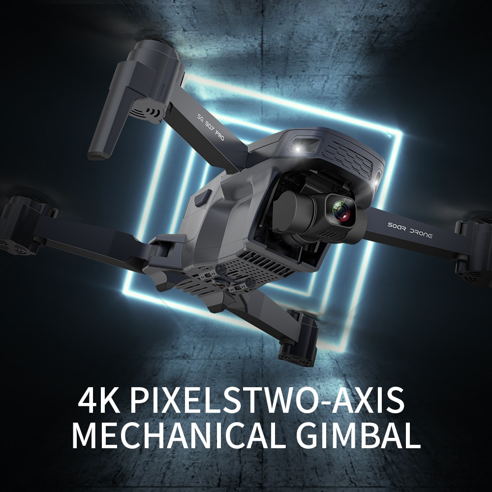 VImillo NEW SG907 Pro 5G Wifi GPS Drone With 4K HD Camera One Key Return Auto Follow Flight RC Quadcopter With Camera VS SG907 enlarge