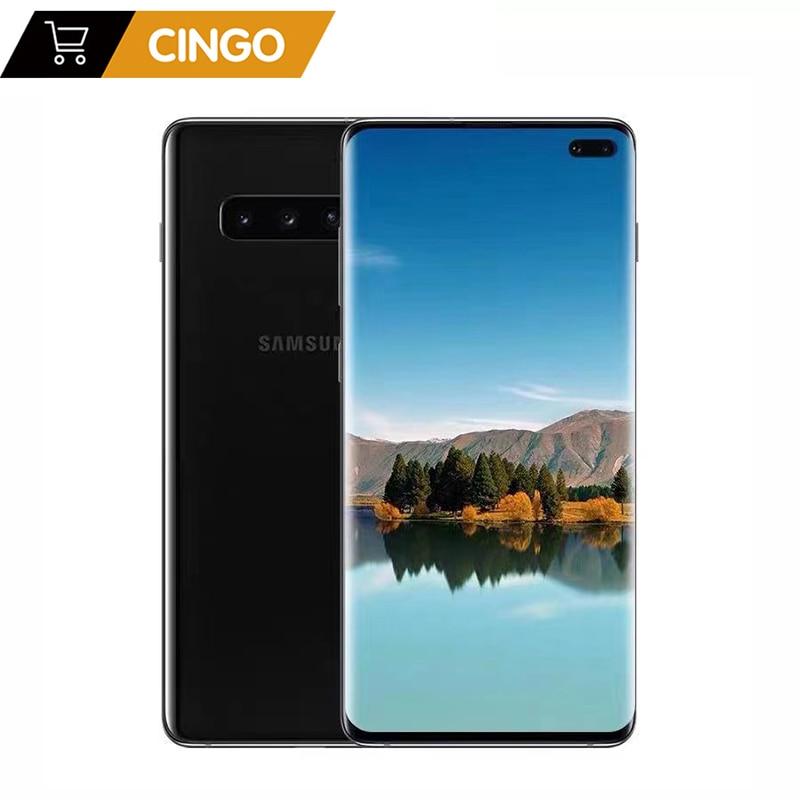 Оригинальный разблокированный Samsung Galaxy S10 S10 + S10e G970U/F G973U/F G975U/F Восьми