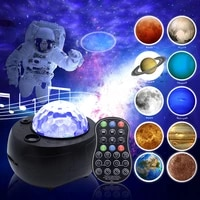 star projector lamp children bedroom led night light baby lamp decor rotating starry planet galaxy projector table lamp gifts