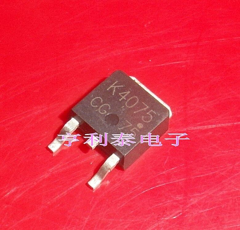 10 Uds MOS 2SK4075 K4075 TO252 MOS Original nuevo 1 orden