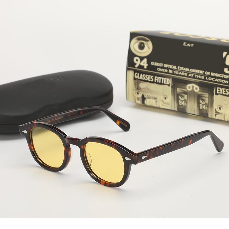 Yellow Night-Vision Glasses Protective Gears Polarized Sunglasses Johnny Depp Glasses Night Vision Drivers Goggles Anti Glare