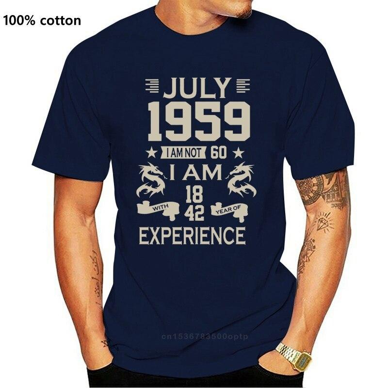 New Personalised Birthday Year Month Age Experience Years Mens Womens Kids TShirt TEE Shirt Popular Tagless