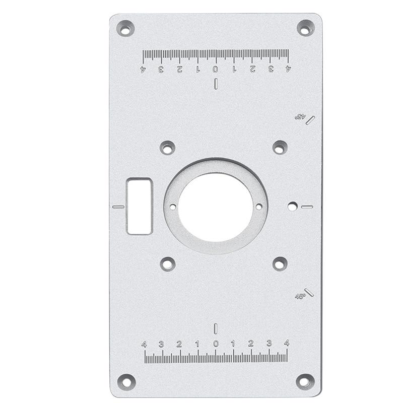Multifunctionele aluminium freestafel insteekplaat - Houtbewerkingsmachines - Foto 5