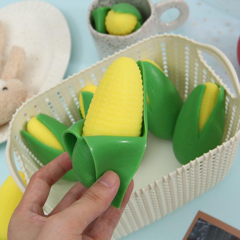 Креативная имитация кукурузного отверстия пилинга детские игрушки штампованные Мячи антистресс Детские сжимаемые снятие стресса