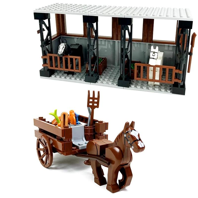 Конные блоки каретки принадлежности для фермы, Классические строительные блоки