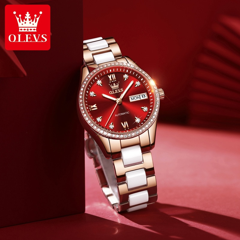 Watch women fashion automatic mechanical watch waterproof luminous ladies watch enlarge