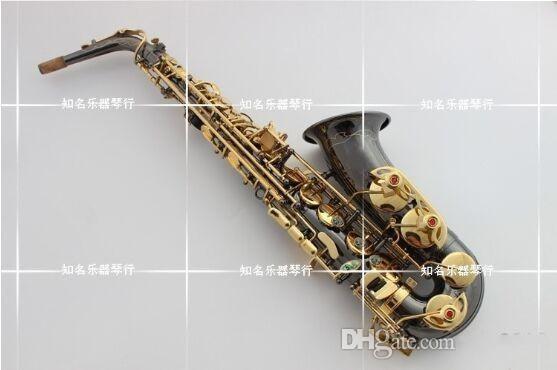 Saxophone Alto instrument Japan new E Alto A-901 Saxophone instrument drop / wind / tube black nickel gold Sax Free