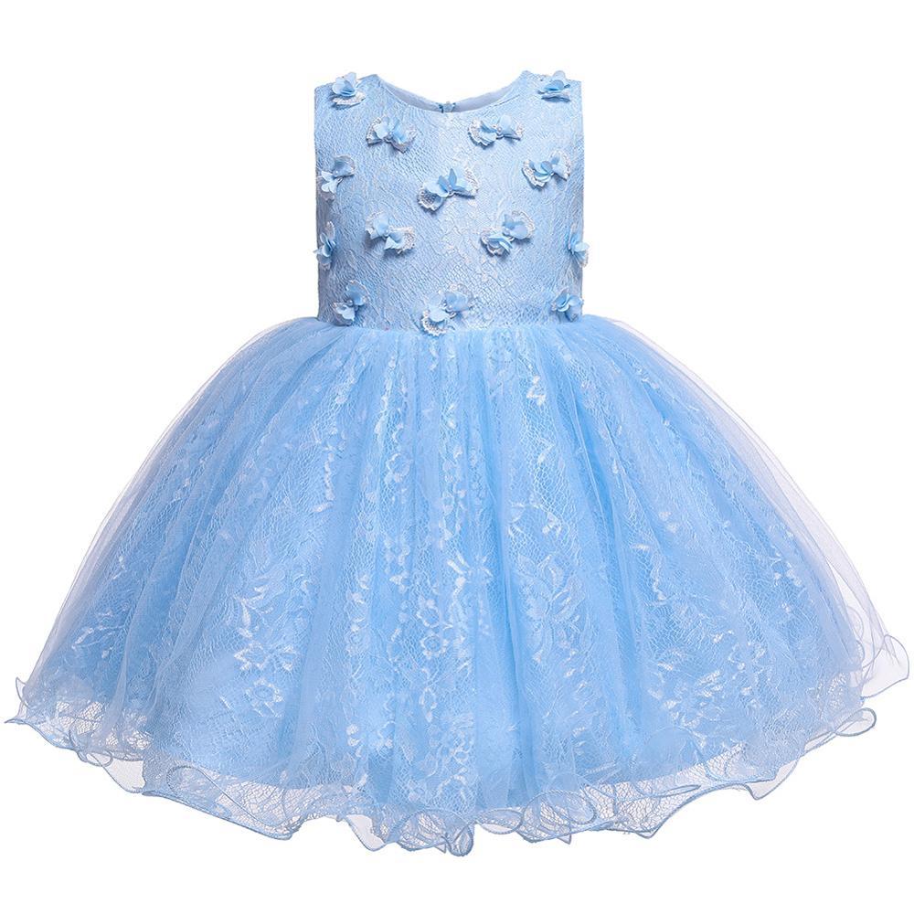 Vestido de festa de aniversário para meninas, vestido de princesa borboleta para meninas, bonito, vestido de baile, design de formatura, roupas de bebê 1 2 3 4 anos