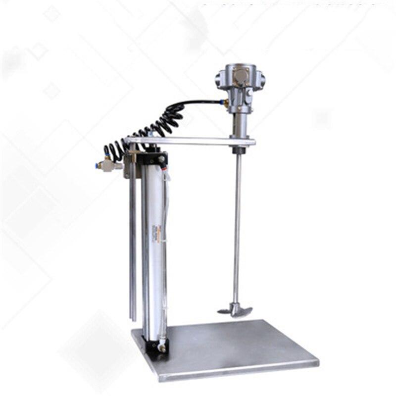 Mélangeur pneumatique à mélange forcé, mélangeur pneumatique à levage automatique mélange pneumatique de peinture et dencre de peinture