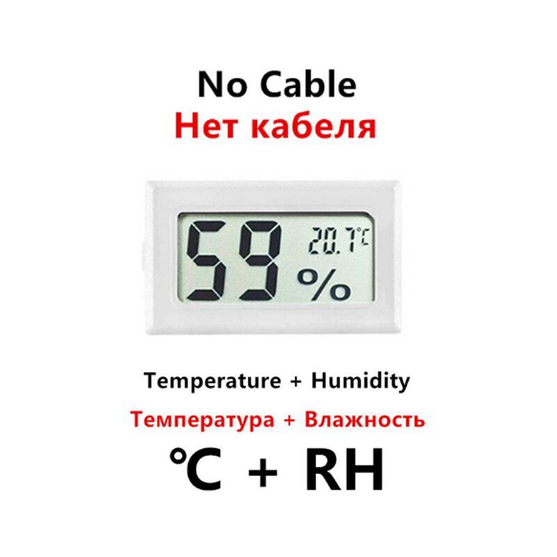 Mini Digital LCD Thermometer Indoor Convenient Temperature Sensor Humidity Meter Hygrometer Gauge