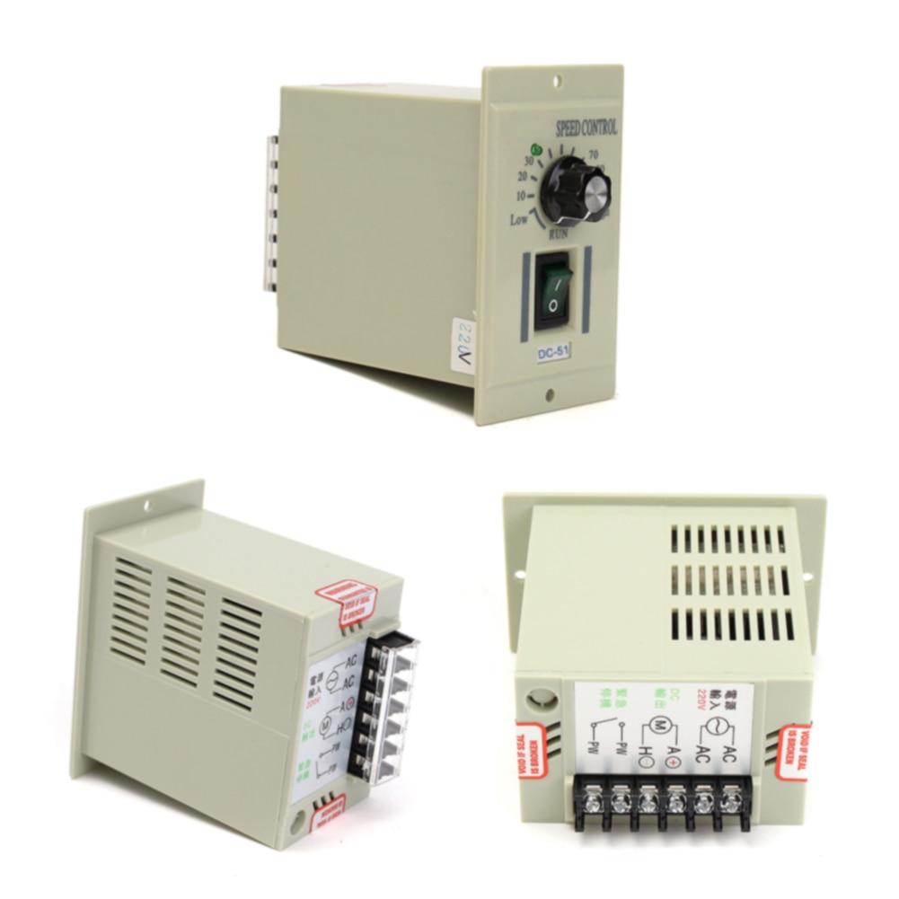 وحدة تحكم سرعة المحرك الاحترافية 50 هرتز 220 فولت للحماية من التيار الزائد في المنزل الإلكتروني مع استبدال متغير للتحكم في تيار مستمر 0-500 واط