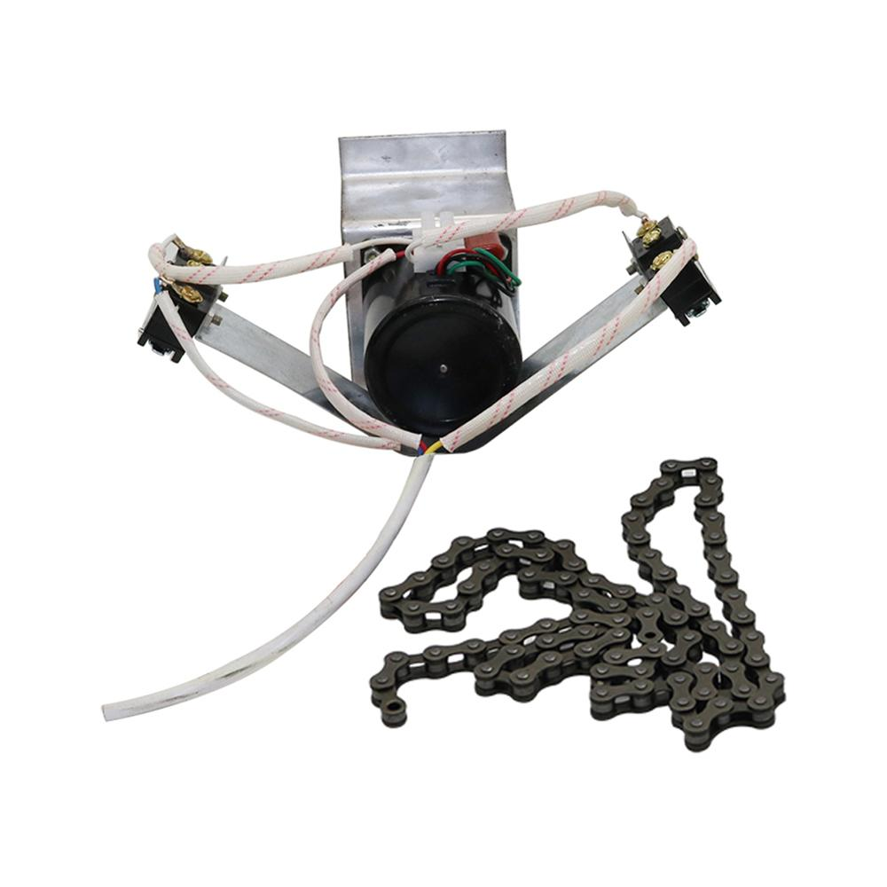 Incubadora Industrial, motor de huevos densos de 220 V, 100 CM, incubadora de cadena, sistema de giro automático de huevos con soporte de montaje de motor