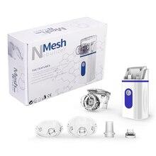 Mini Portable Inhale Nebulizer Silent Handheld Ultrasonic Nebulizer Inhaler For Kids USB Rechargeabl