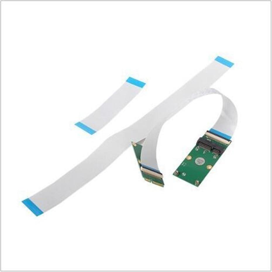 Micro SATA Cables Mini PCIE to Mini Card Extender - MSATA Extension Cable 10cm 20cm 30cm