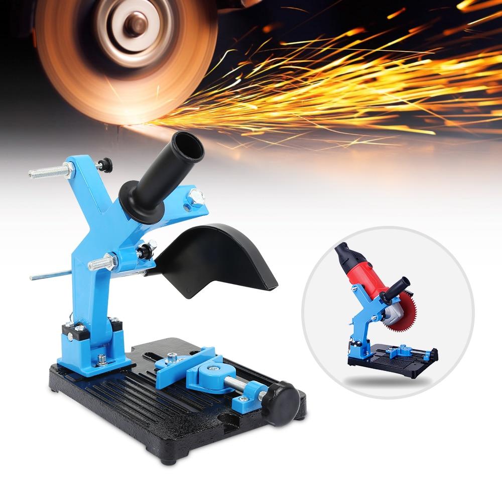 Amoladora de ángulo soporte amoladora de ángulo soporte de apoyo para 180-230mm cortador de ángulo de Base de hierro fundido de herramienta de poder de accesorio