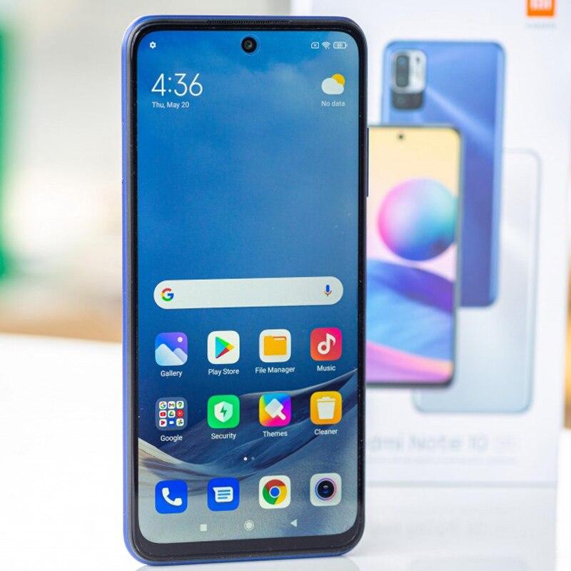 Original Xiaomi Redmi Note 10 5G NFC Global Version Smartphone RAM 6GB ROM 128GB MTK 700 90Hz Display 5000mAh 48MP Camera enlarge