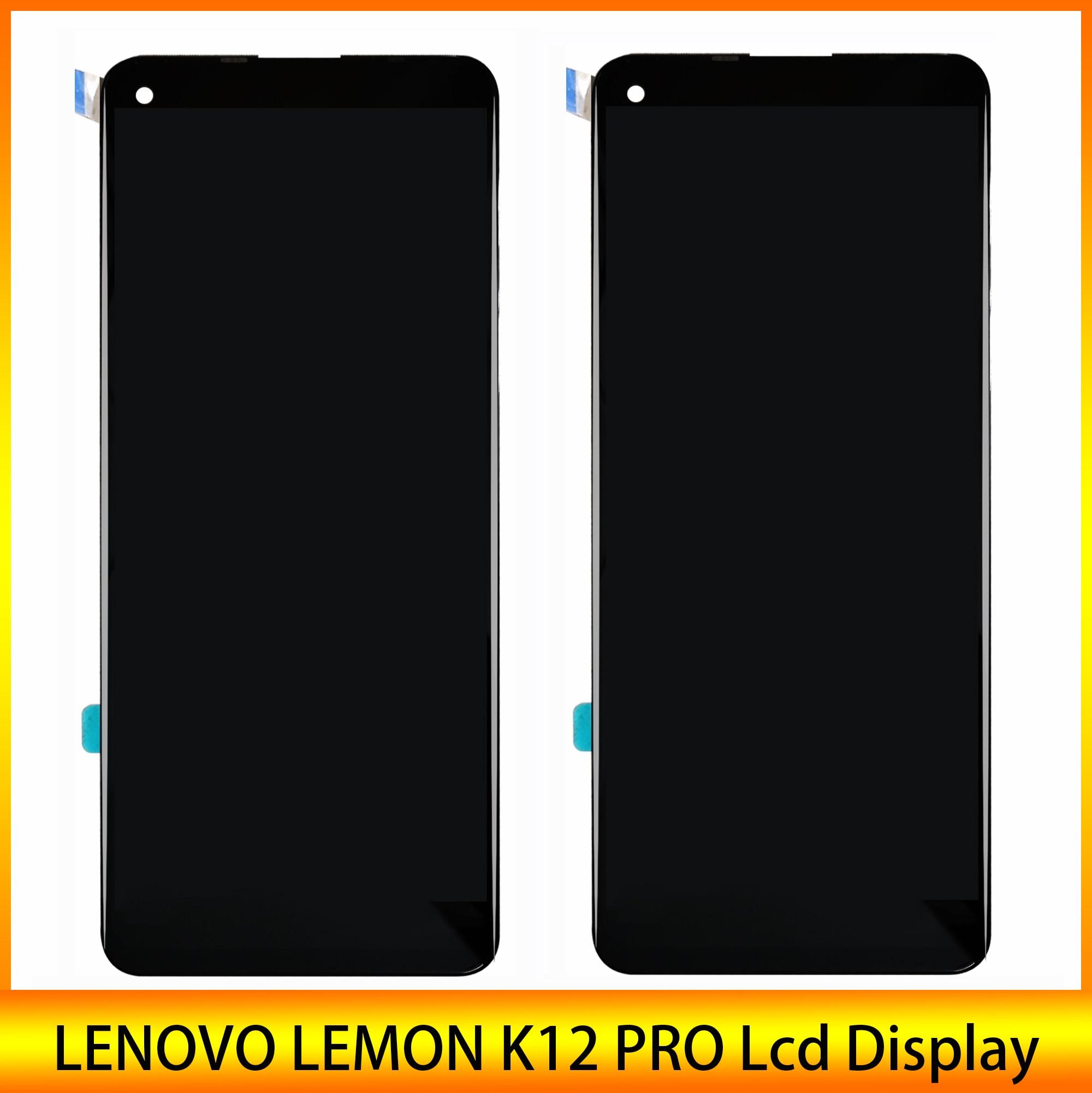 شاشة Lcd أصلية 6.8 بوصة عالية الجودة لهاتف Lenovo K12 Pro Lemon K12 Pro شاشة عرض LCD حساس باللمس شريط رقمي وأداة