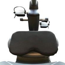 Nouvelle vente résistance rameur coussin de siège en mousse à mémoire de forme sport Horizontal coussin de siège fixe fonctionne bien avec lexercice Stationar