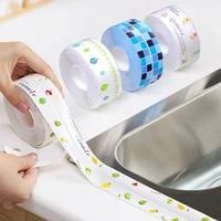 Autocollant etanche pour evier de cuisine  bande adhesive Anti-moisissure  fente de toilette  bande de couture auto-adhesive