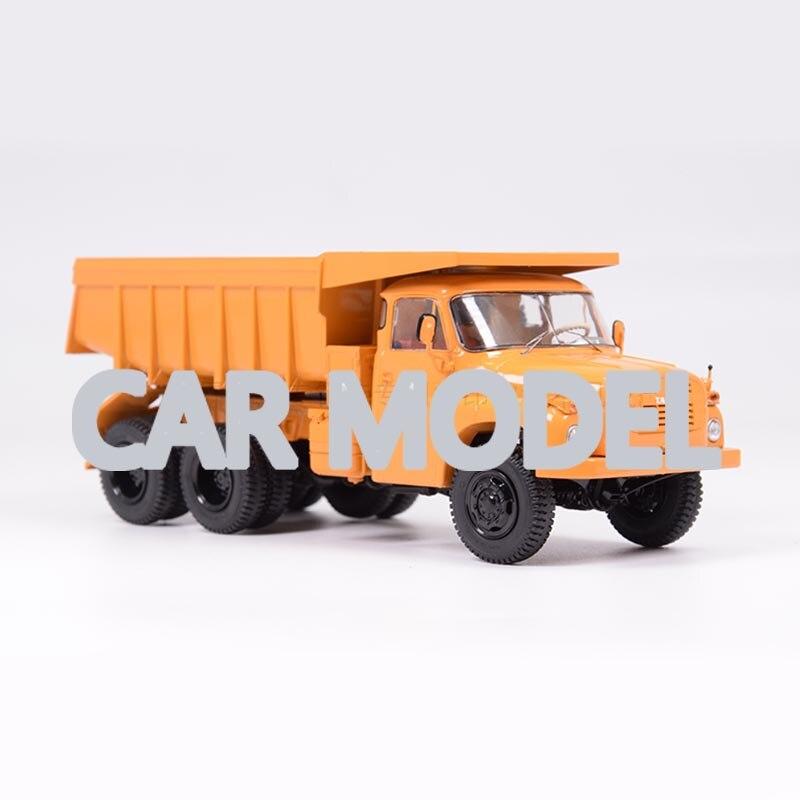 143 Schaal Legering Speelgoed Voertuigen Ssm Tatra-148-S1 All Terrain Mine Truck Model Van Kinderen Speelgoed Auto Originele Authentieke Kids speelgoed