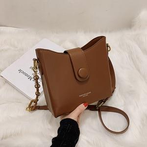 Bag For Women 2021 New Korean Retro Texture Fashion Joker Bag Simple Fashion Shoulder Messenger Bag