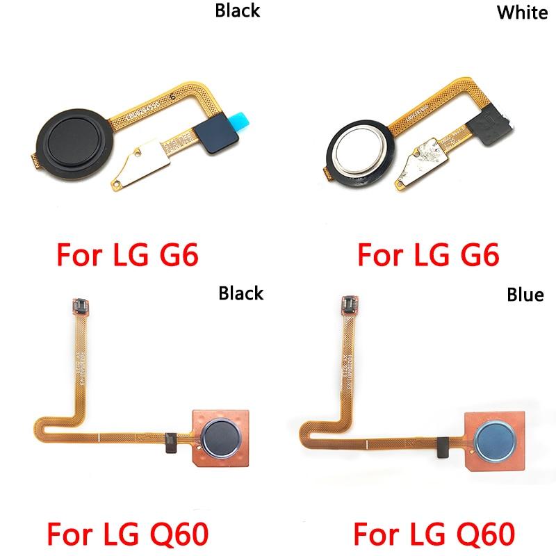 Escáner de huellas dactilares para reparación de LG G6 Q60, botón de...