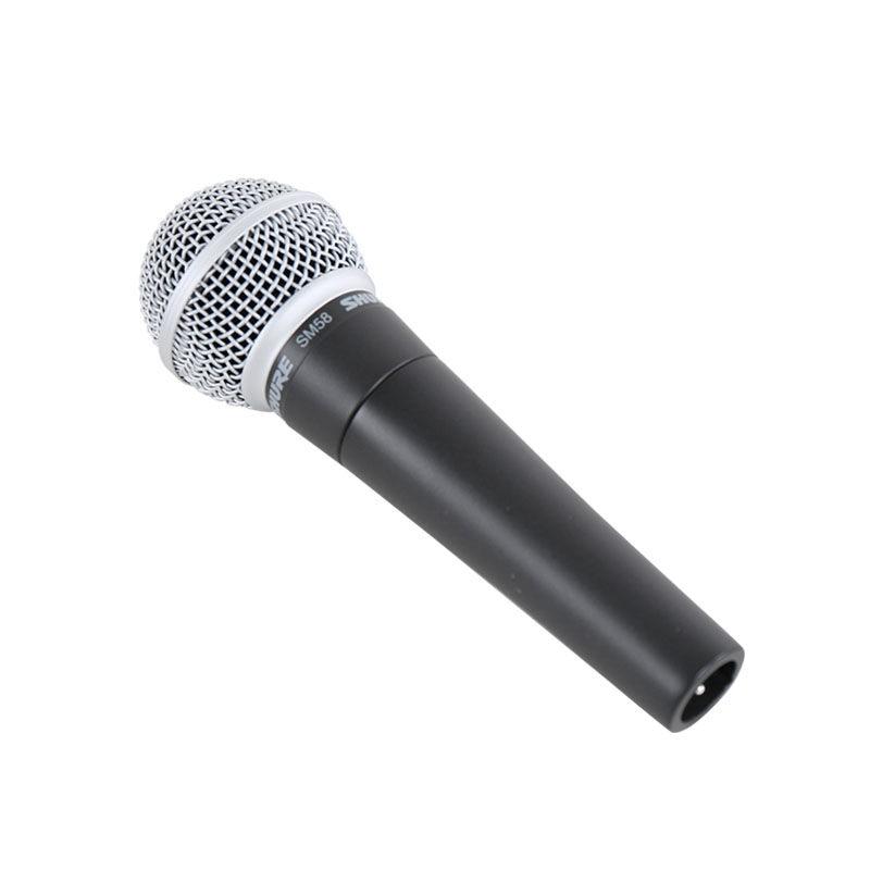 Shure-ميكروفون كاريوكي احترافي SM58/SM58S ، أصلي ، احترافي ، قلبي ، ديناميكي ، KTV ، أداء مسرحي