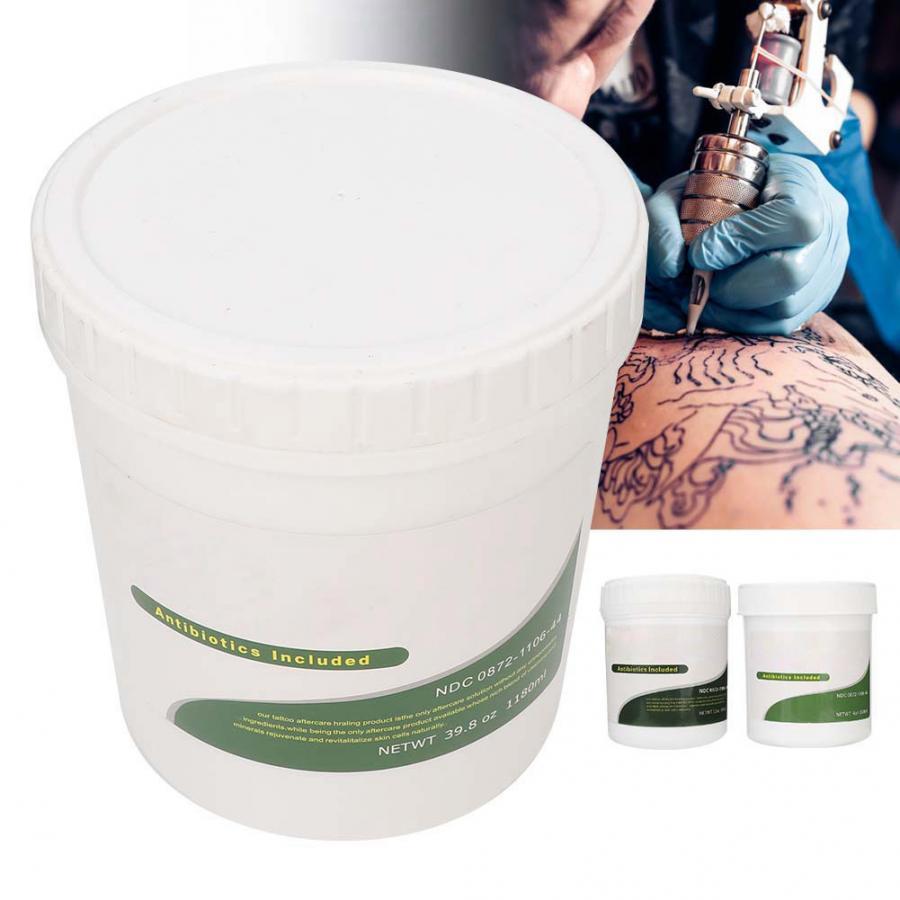 Aceite de tatuaje protector de piel, crema hidratante, ungüento para reparación de tatuajes curativos