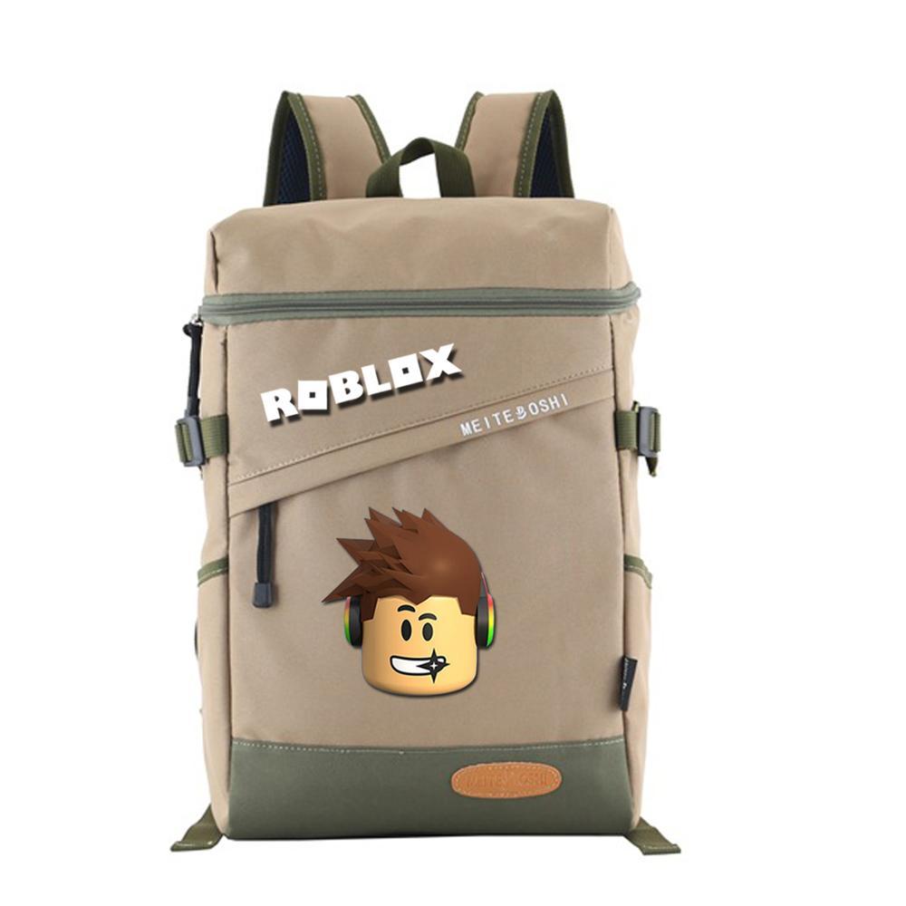 3 colors available fashion backpack Teens waterproof high capacity men and women school bag cartoon Mochila