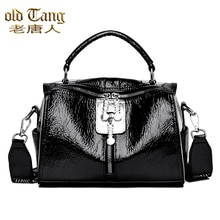 OLD TANG High Quality PU Leather Shoulder Bags For Women 2020 Fashion Casual Handbag Soft Luxury Lig