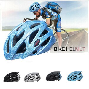 Universal Bicycle Helmet Night Cycling Reflective Mountain Road Bike Adjustable Breathable Lightweight Riding Accessories