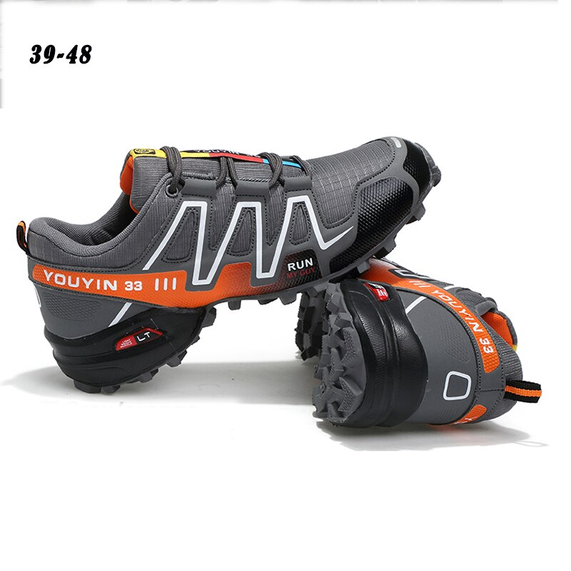 Summer  Men Outdoor Hiking Shoes Climbing Sport Breathable Sneakers Desert Training Trekking Shoes Mesh Anti-skid Trainers