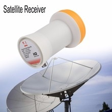 Universal Ku-Band simple LNBF 9,75/10.6KU doble salida Full HD Digital KU LNB receptor de satélite de alta banda banda baja