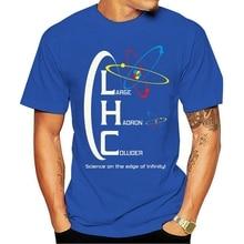 Mode casual T shirt DIE LHC cern lhc fermilab higgs higgs t-boson geek nerd wissenschaft physik feynman 100% Baumwolle
