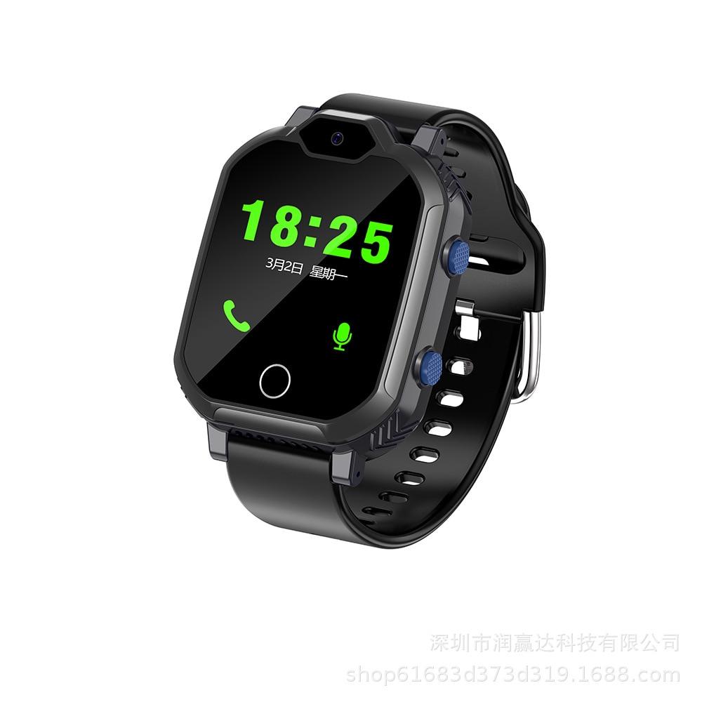 4G Full Netcom S20 starszy inteligentny telefon zegarek wodoodporny połączenie wideo pozycjonowanie w czasie rzeczywistym wielofunkcyjny