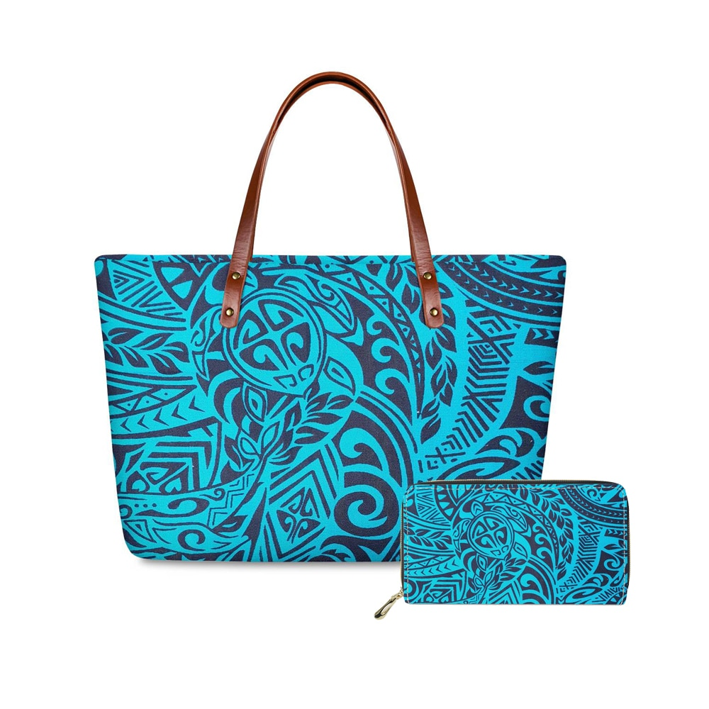 famous brand women composite bag top handle bags fashion lady shoulder bag handbag set pu leather bag women s handbags 4pcs set fashion PU Polynesian Traditional Tribal Handbags Luxury Women Large Top-handle Bags 2pcs/set Shoulder Bag for Ladies Purses