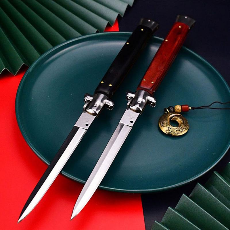 سكين للفرد التكتيكية العسكرية Canivete متعددة الوظائف التخييم الدفاع عن النفس Facas Artesanais Bushcraft Huusk السكاكين صندوق القاطع