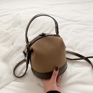 New Package Bucket simple women bag Fashion Handbag Single Shoulder bags crossbody Bag lady's Handbags