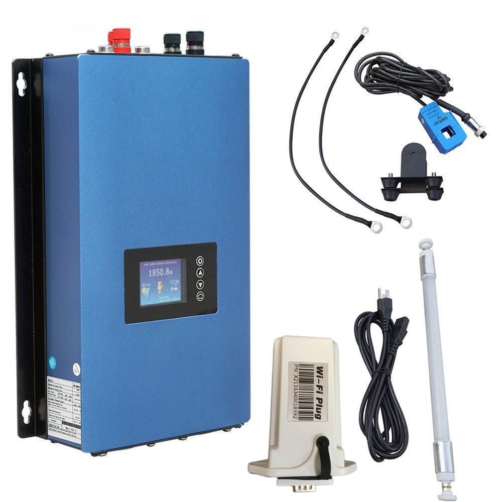 Inversor barato do laço da grade da energia eólica 2kw com limitador/controlador da carga da descarga/resistor para o gerador da turbina eólica de 3 fases 48v
