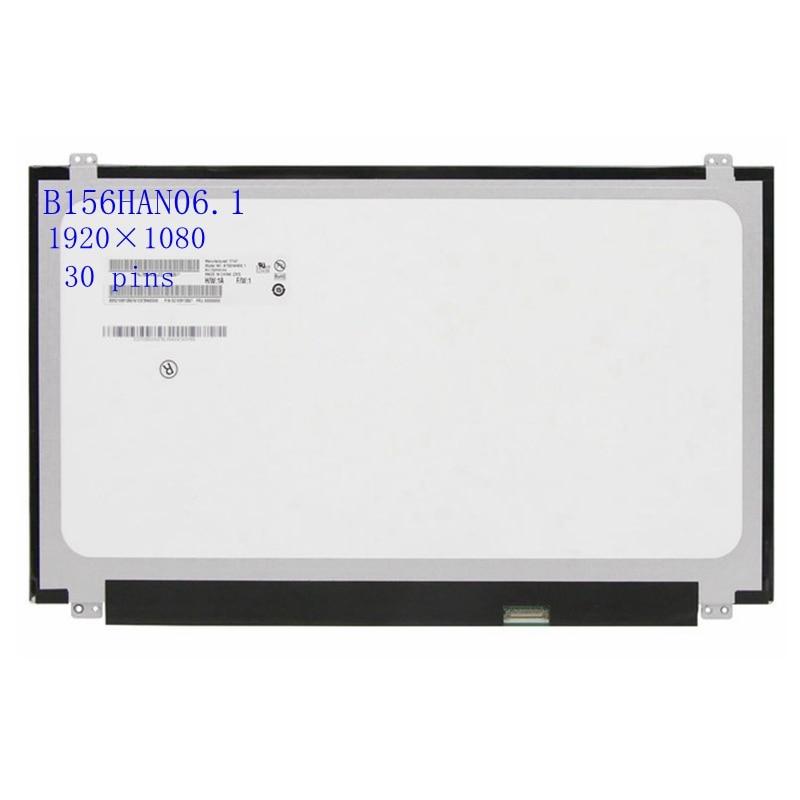 15.6 IPS كامل HD 1080P شاشة LED للكمبيوتر المحمول عرض B156HAN06.1 B156HAN04.1 LTN156HL09 LP156WF4 SPL1 LP156WF6 SPK1 N156HCE-EAA