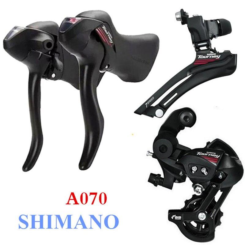 SHIMANO 2x7 velocidades cambio de marchas de bicicleta de carretera cambio de marchas de bicicleta piezas de bicicleta accesorios de bicicleta