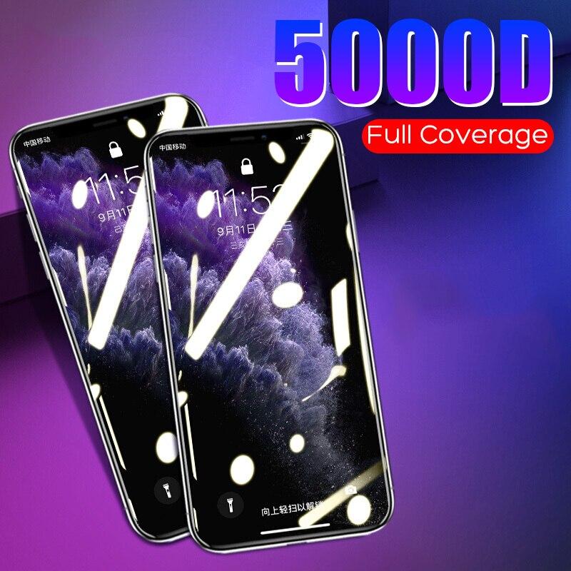 Novo vidro protetor no para iphone 11 pro max se 2020 x xr vidro temperado para iphone xs max 8 7 6 plus filme protetor de tela