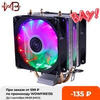 Бесшумный Процессор охлаждающий вентилятор 90 мм 3PIN для Intel LGA 775 1150 1151 1155 1156 1200 1366 AMD AM2 AM3 AM4 гнездо эффективный Ventilador