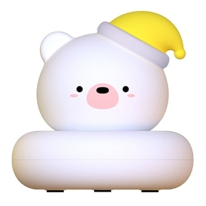 Retail Cute Pet Night Light USB Charging Baby Sleeping Lamp Pat Sensor Lights for Creativity Decorate Christmas Gifts