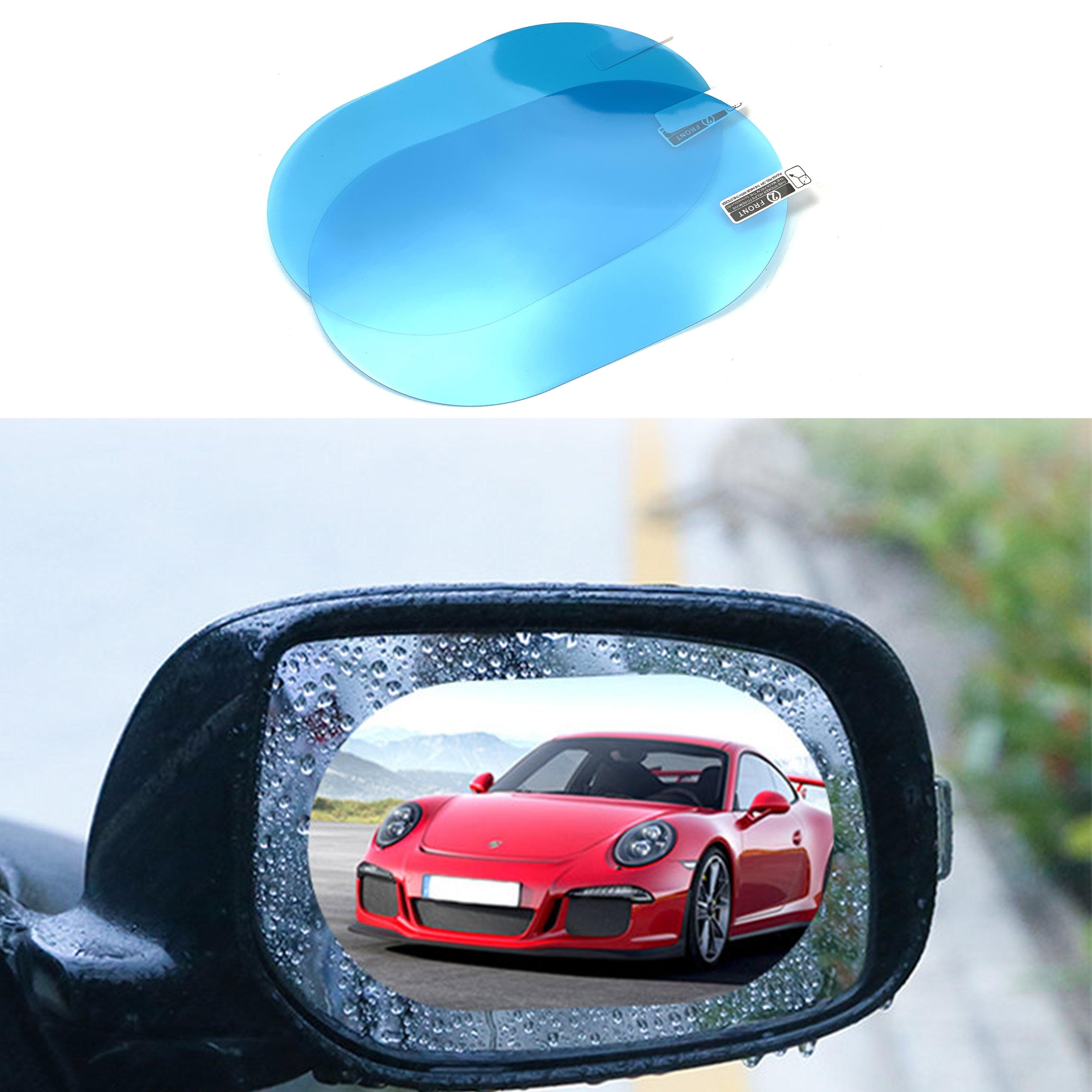 2 pçs espelho retrovisor do carro à prova dwaterproof água anti-nevoeiro filme para mitsubishi asx outlander lancer colt evolução pajero eclipse cruz grandi