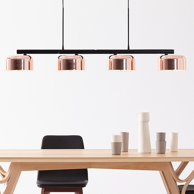 Luminaria nórdica suspendu, bola de cristal, dormitorio, restaurante, luces colgantes LED, luminaria industrial, lámpara colgante