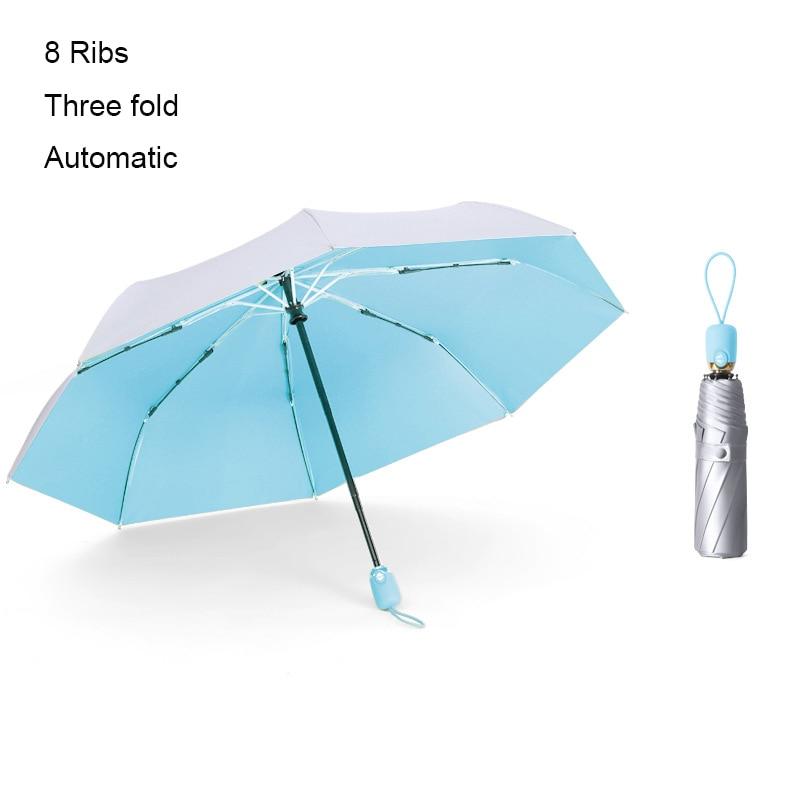 New 8 Ribs Pocket Mini Umbrella Anti UV Paraguas Sun Umbrella Rain Windproof Light Folding Portable Umbrellas for Women Children enlarge