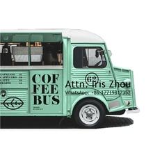 Citroën HY mobile électrique alimentaire camion chariots alimentaire van crêpe panier alimentaire vente de kiosque à sandwich